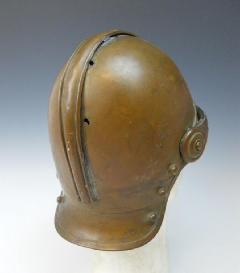 19th C. French Firefighter Helmet - 3