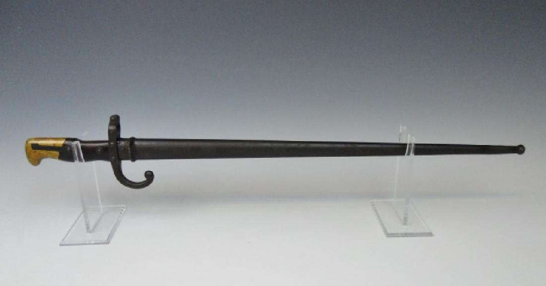 19th C. French Gras Bayonet, 1875