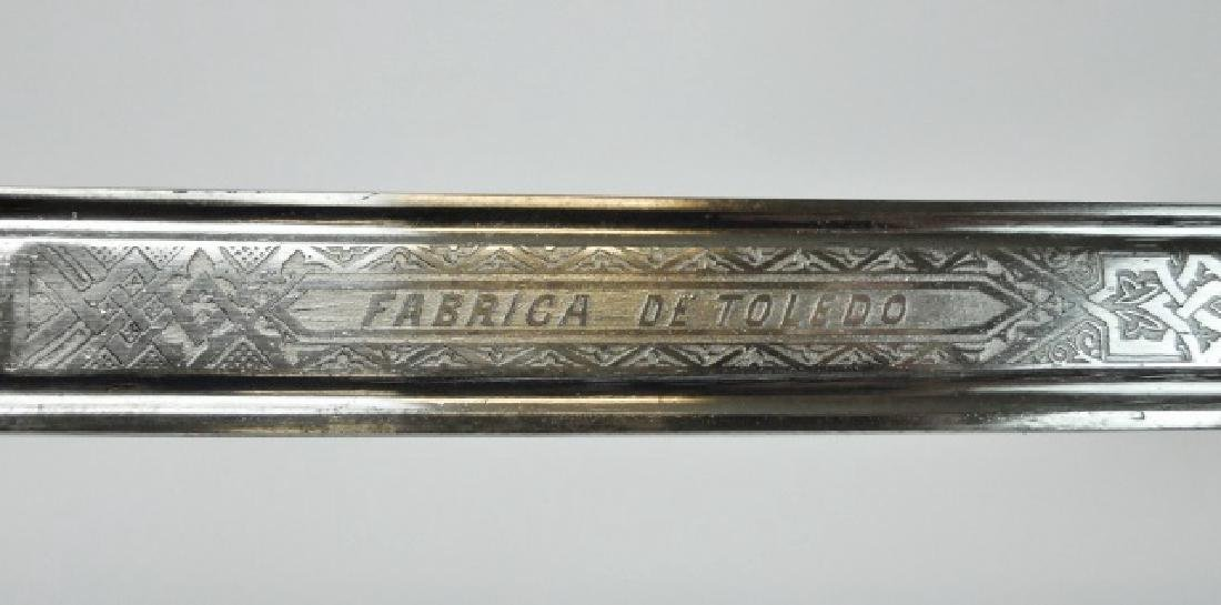 Spanish Officer Sword, Toledo, 1896 - 4