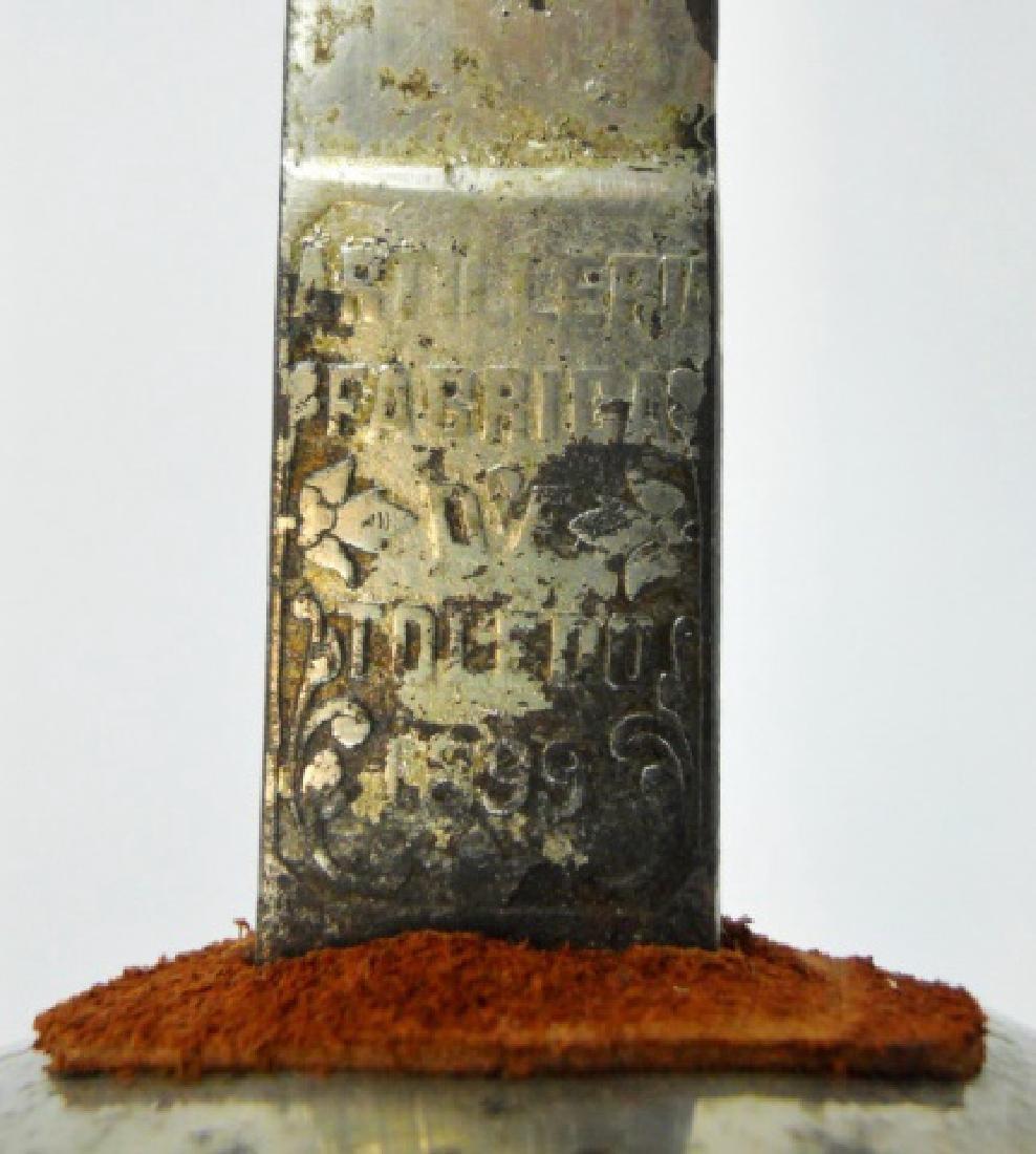Spanish Artillery  Sword, Toledo, 1899 - 3