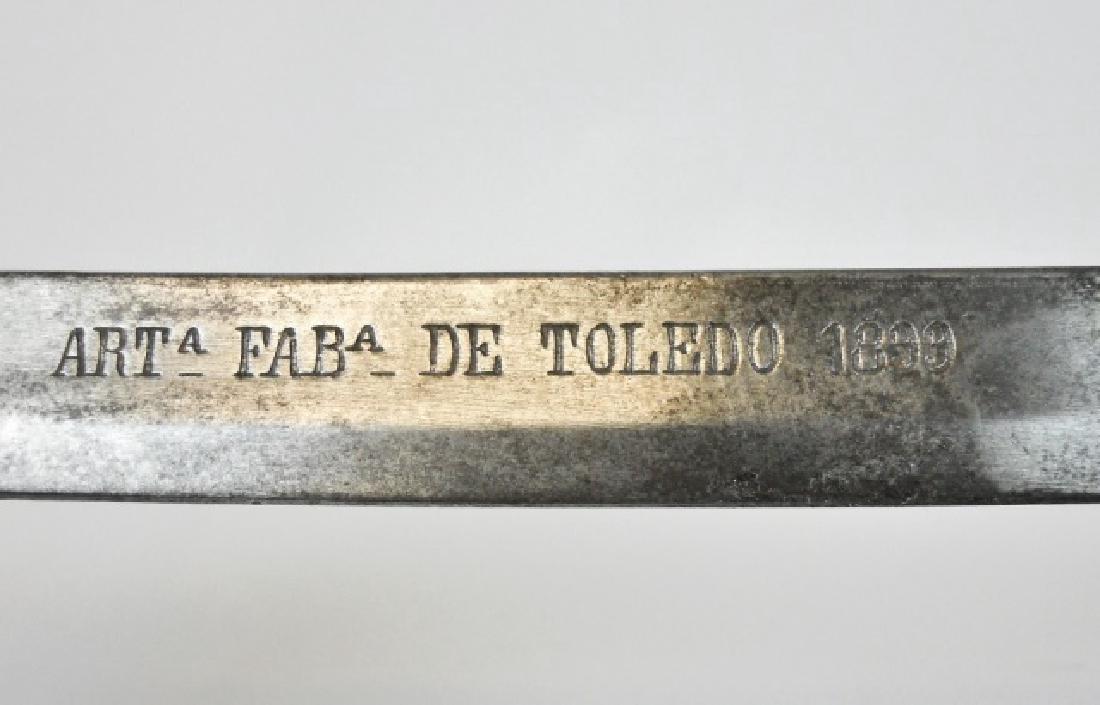 Spanish M1895 Cavalry Sword, Toledo 1899 - 4