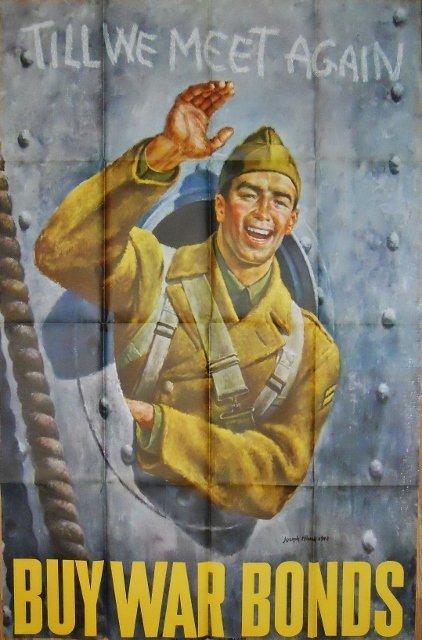 WW2 US Bond Poster, Joseph Hirsch, 1942