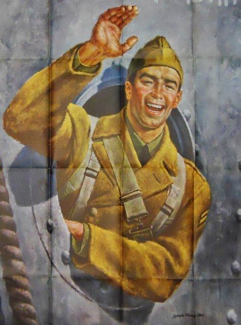 WW2 US Bond Poster, Joseph Hirsch, 1942 - 3
