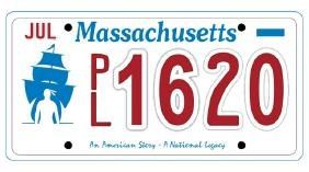 PL1620 - Massachusetts License Plate