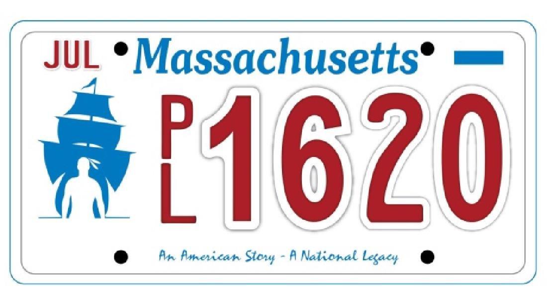 PL1620 - Massachusetts License Plate