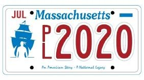 PL2020 - Massachusetts License Plate