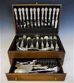 Sterling Silver Flatware Set, Francis 1st (122pc)