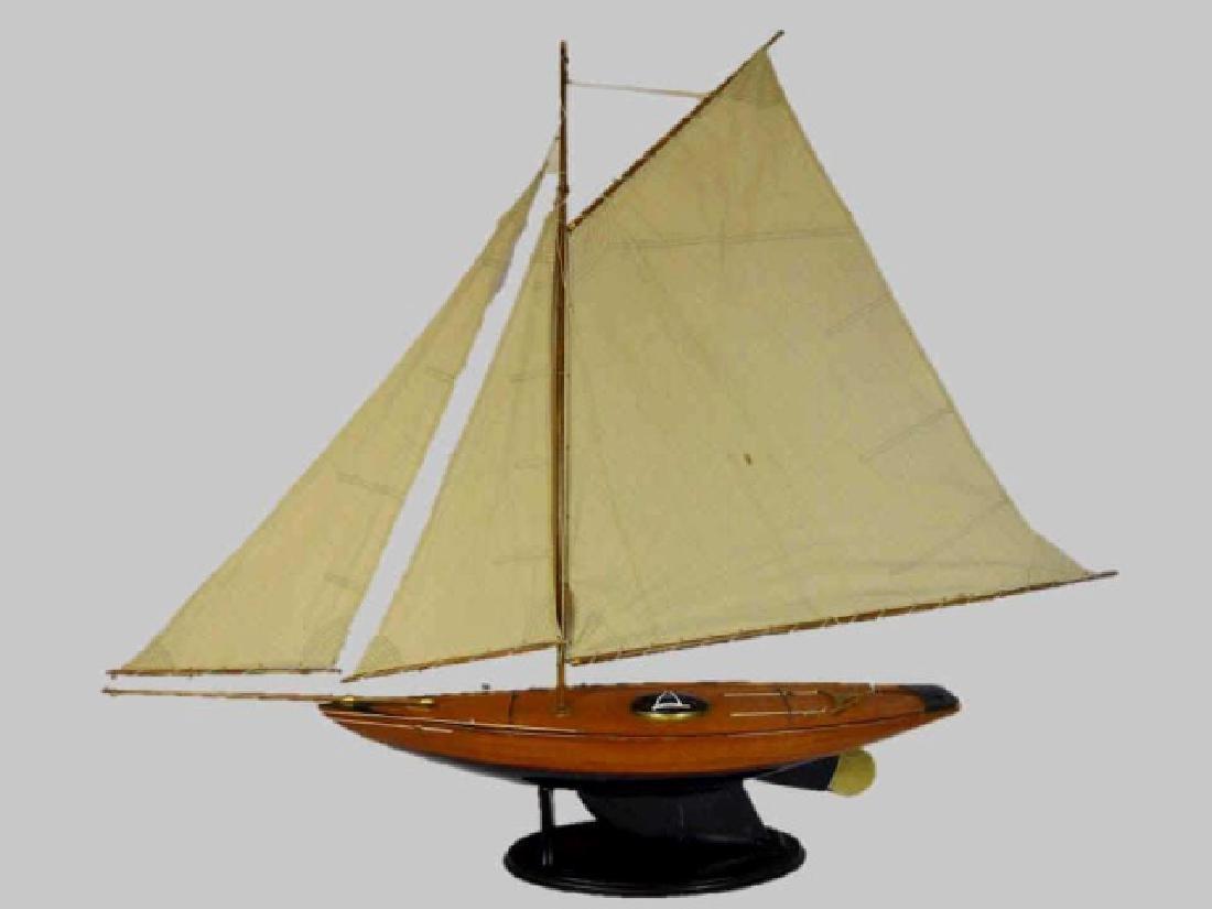 Wooden Sailing Ship Model, 'Bluebell'