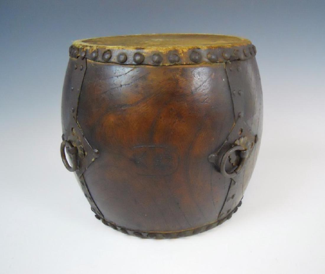 Antique Japanese Taiko Ceremonial Drum