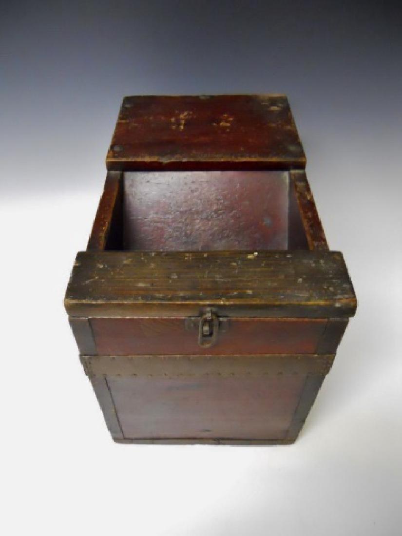 Antique Japanese Zenibako, (Money Box)