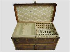 Antique Steamer Trunk Louis Vuitton