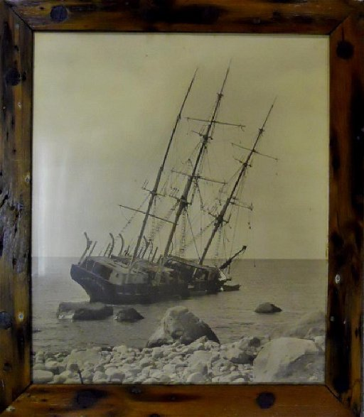 Photograph, Wreck of The Whaling Bark Wanderer