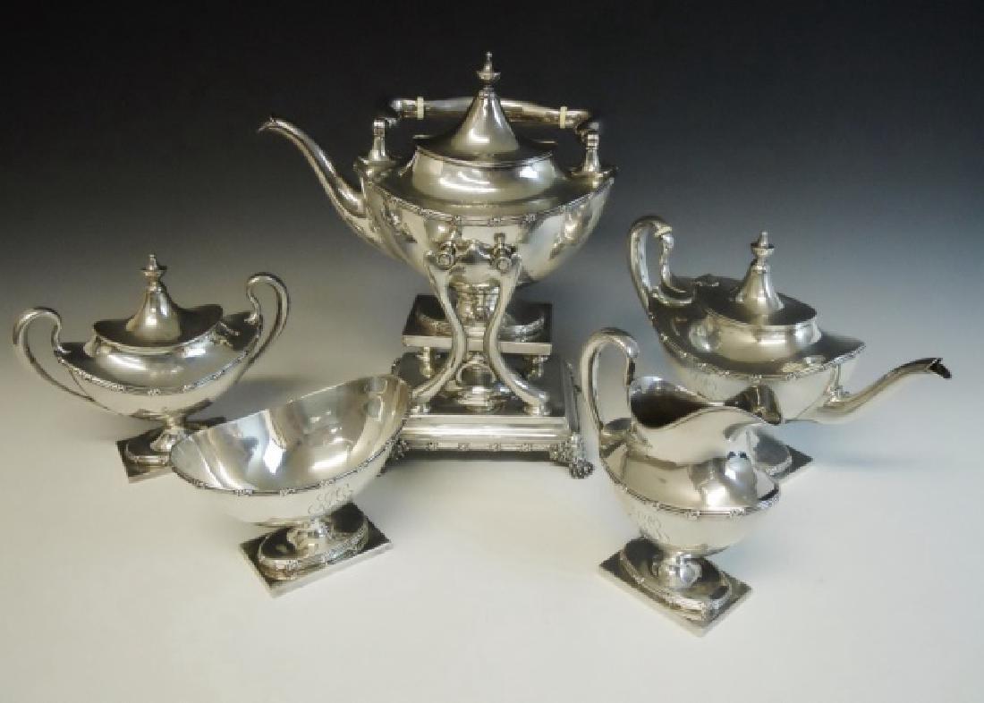 Sterling Tea Service, Black Starr & Frost (6pc)