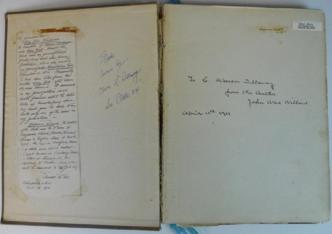Simon Willard and His Clocks, Signed Copy 1911