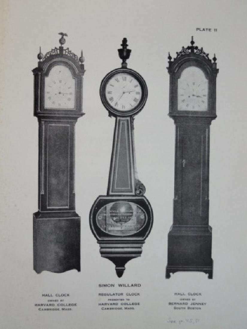 Simon Willard and His Clocks, Signed Copy 1911 - 4
