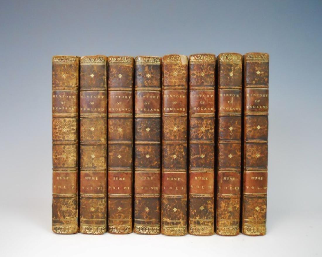 The History of England, David Hume, 1818, (8 vol)