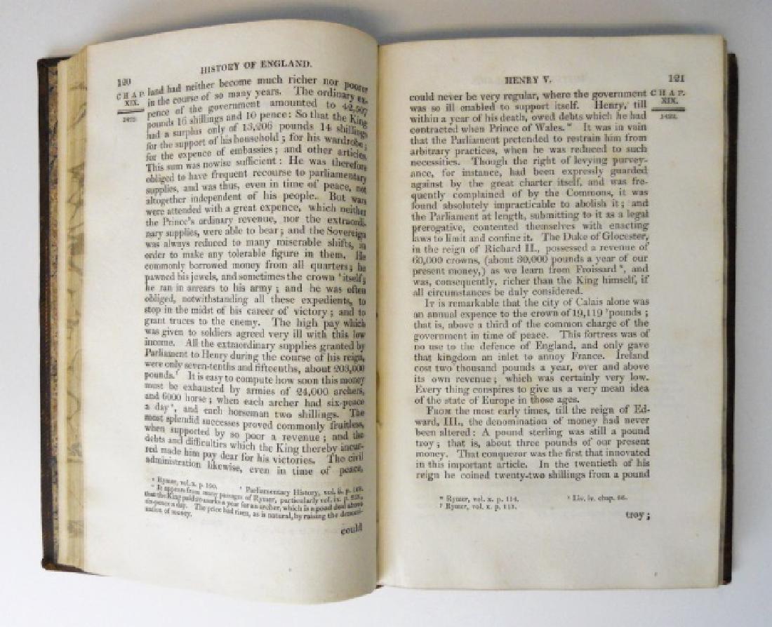 The History of England, David Hume, 1818, (8 vol) - 4