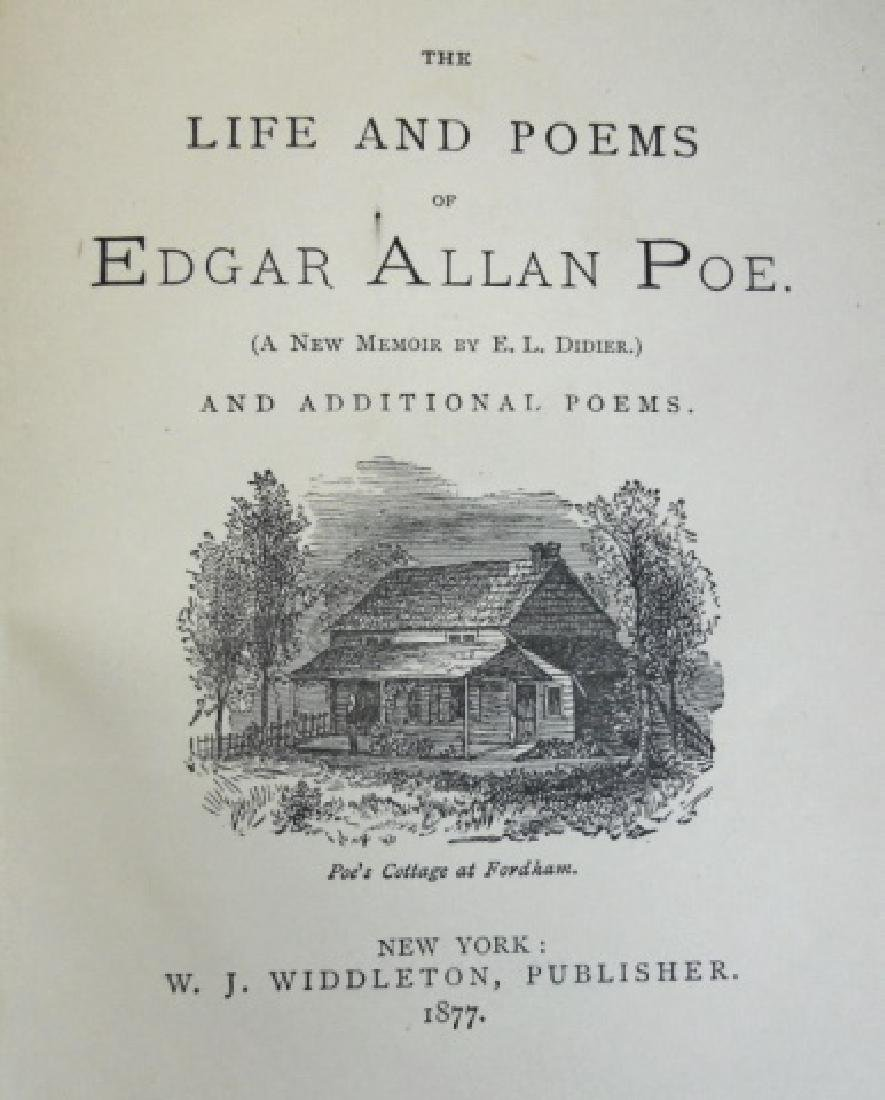 'Life and Poems of Edgar Allan Poe', 1877 - 3