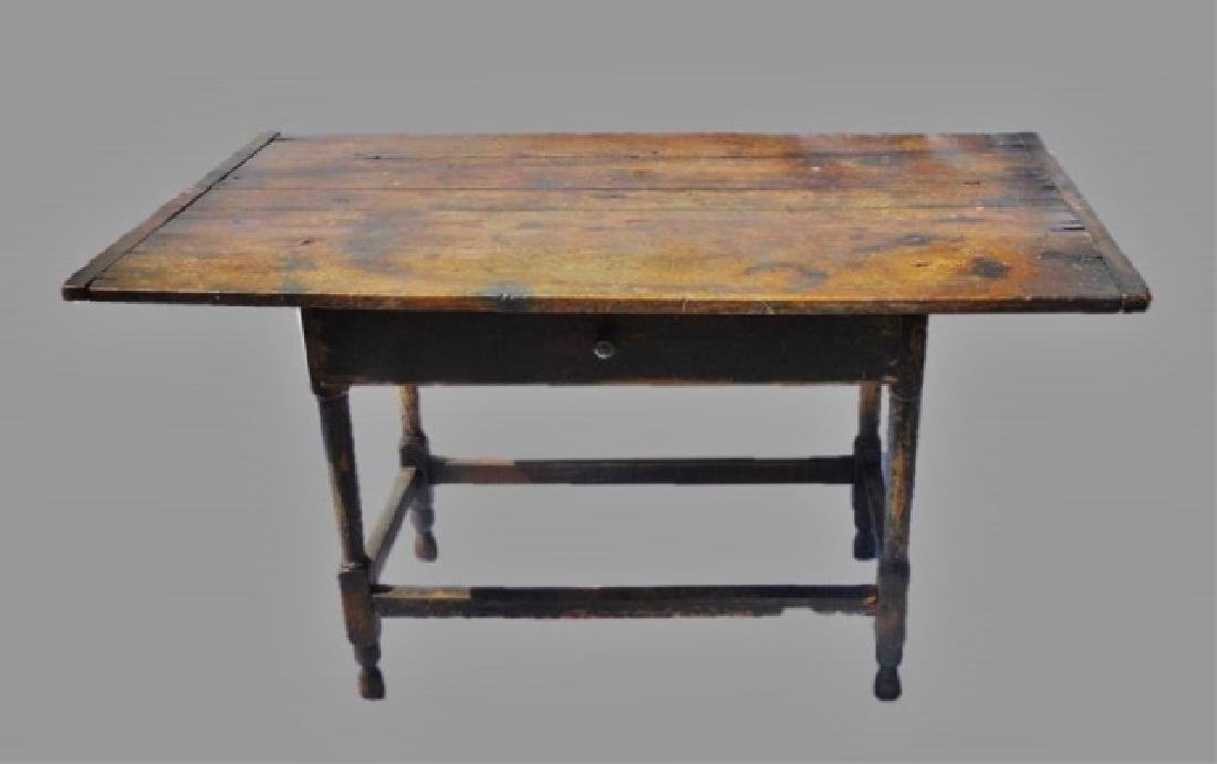 19th C. Tavern Table, Norway Maine
