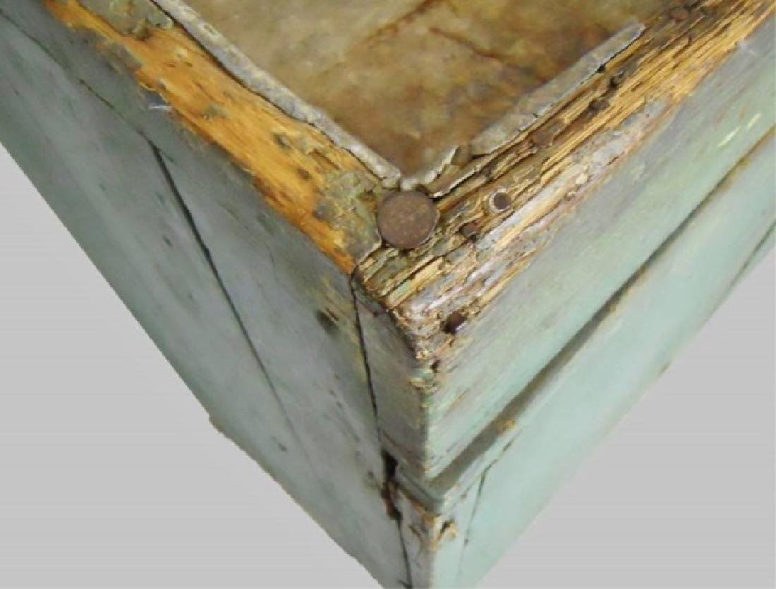19th C. New England Dry Sink in Old Paint - 5