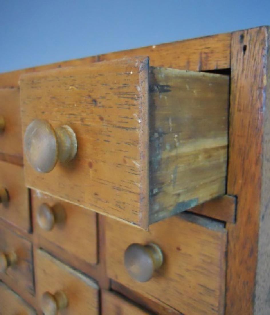 19th C. Spice Cabinet with 12 Drawers - 3