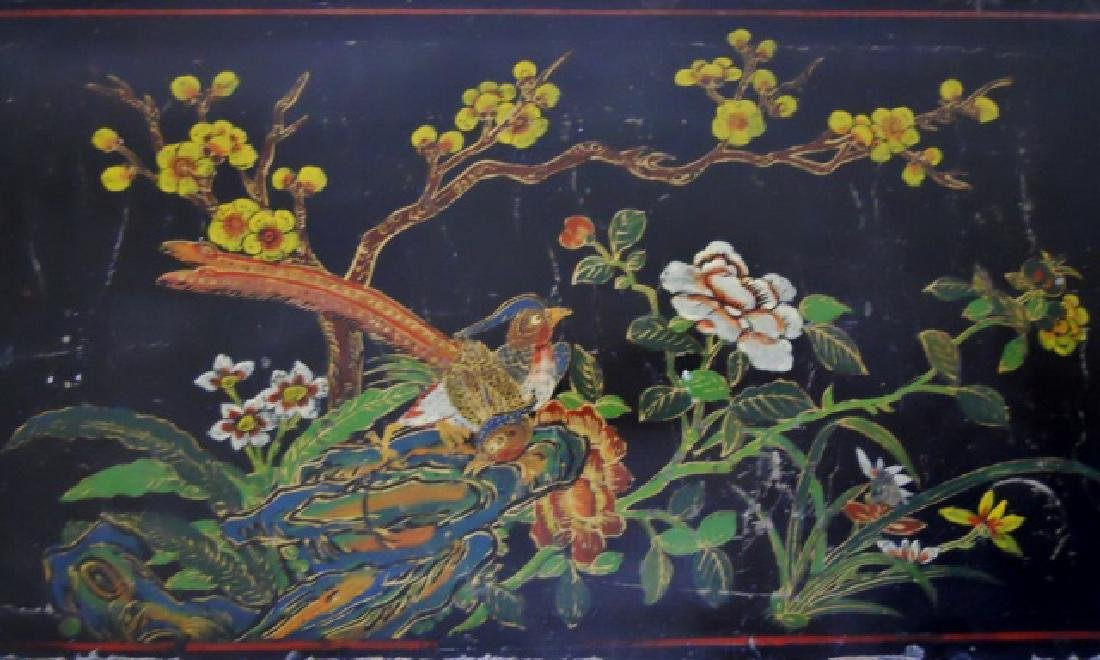 19th C. Chinese Painted Cabinet - 6