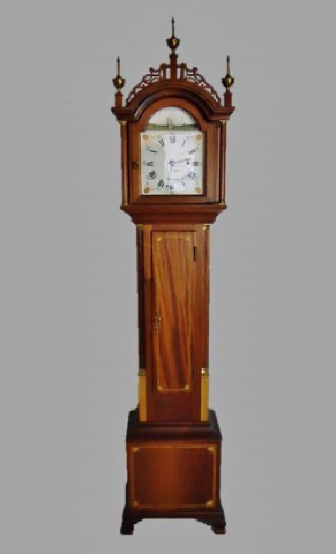 Mahogany Cased Dwarf Clock , Elmer O. Stennes