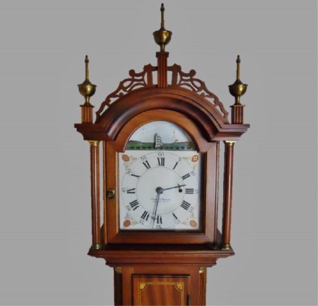 Mahogany Cased Dwarf Clock , Elmer O. Stennes - 2