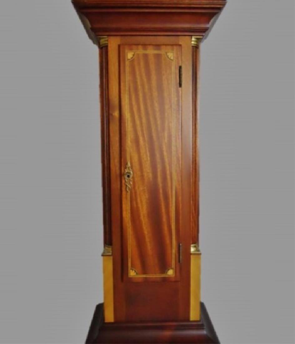 Mahogany Cased Dwarf Clock , Elmer O. Stennes - 3