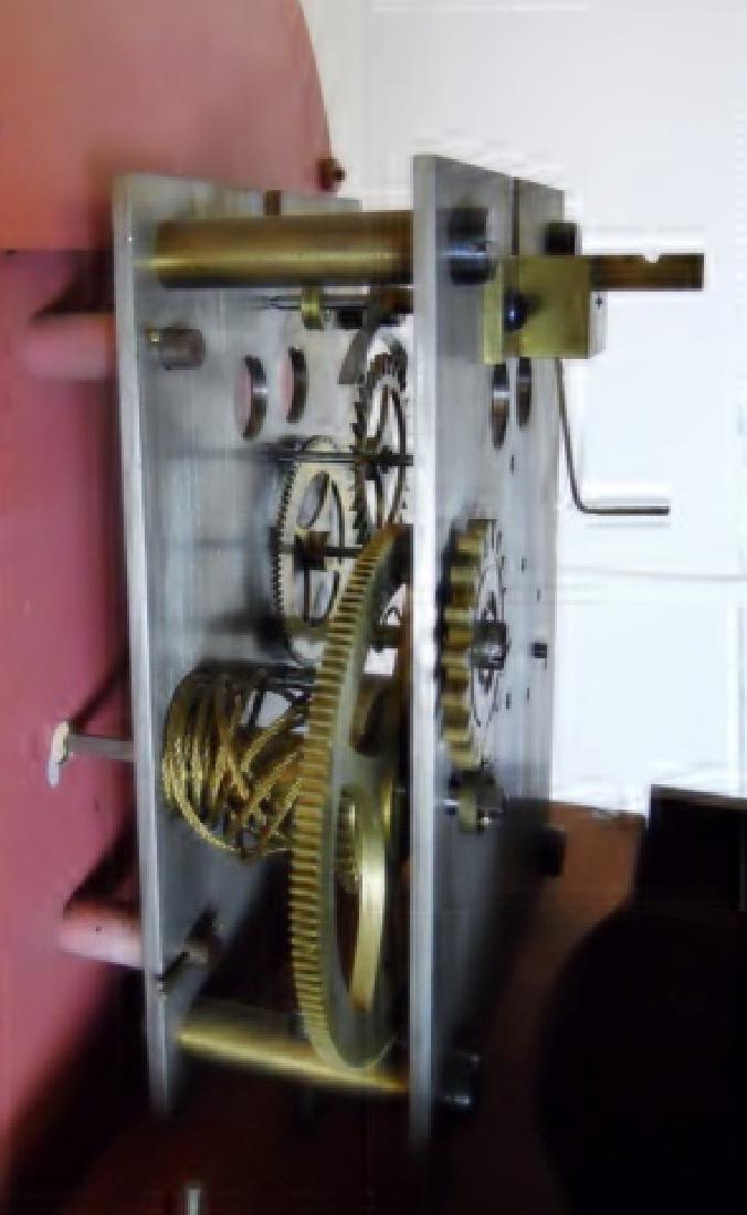 Mahogany Cased Dwarf Clock , Elmer O. Stennes - 6