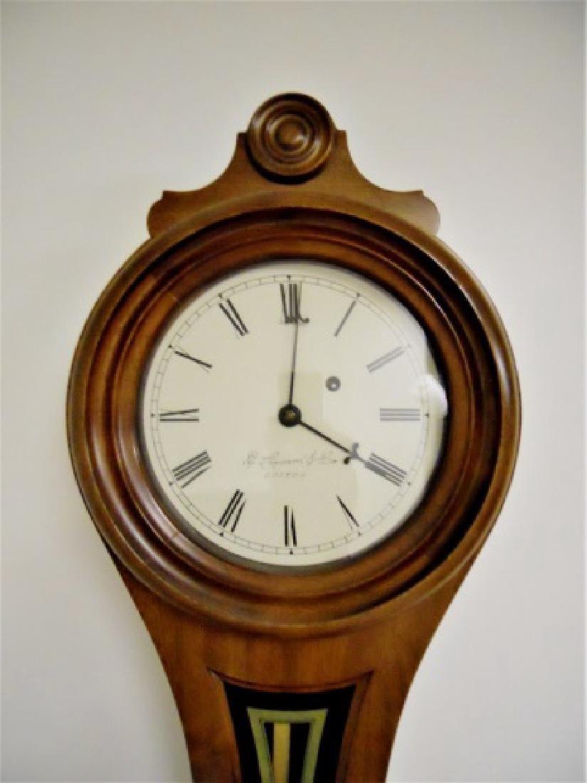 Walnut Figure Eight Wall Clock, E. Howard, Boston - 2
