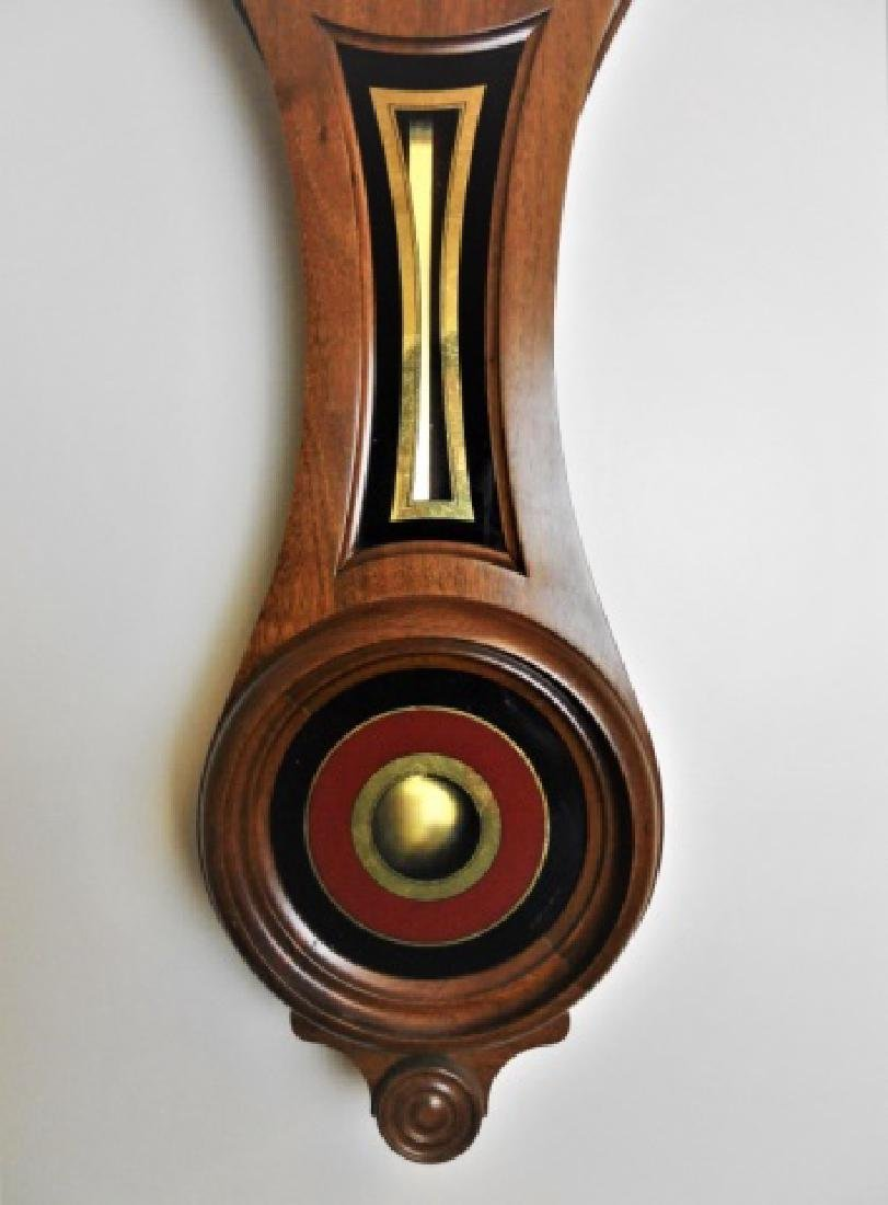 Walnut Figure Eight Wall Clock, E. Howard, Boston - 3