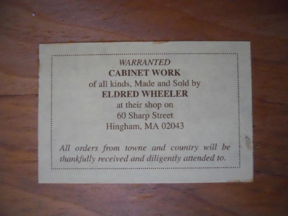 Contemporary Tiger Maple Chest, Eldred Wheeler - 4