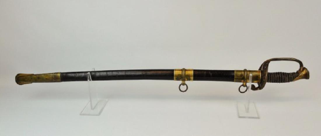 Civil War Foot Officer Sword, Presentation,19th ME