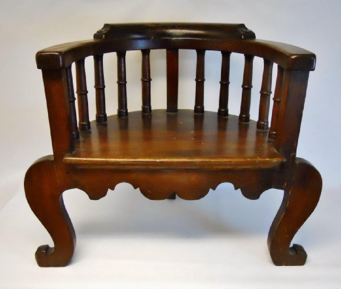 19th C. Chinese Chippendale Arm Chair