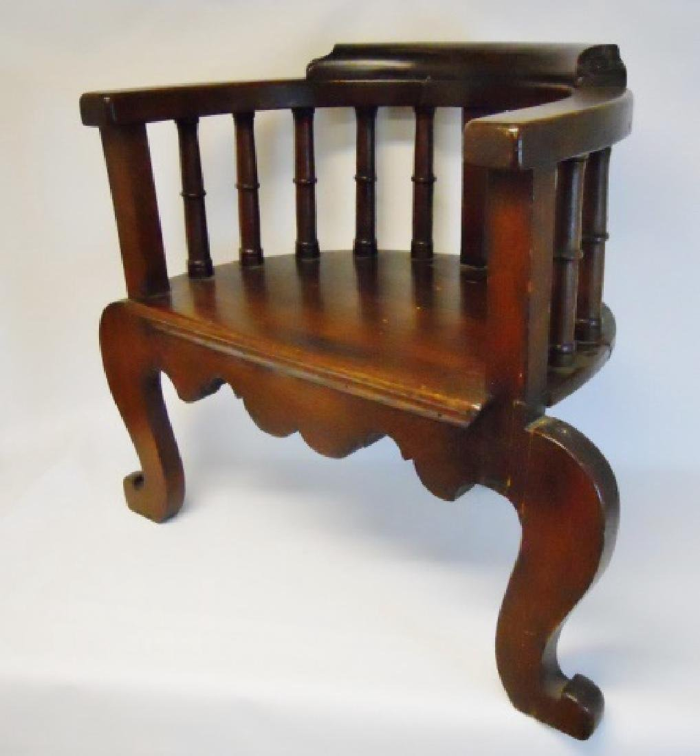 19th C. Chinese Chippendale Arm Chair - 2
