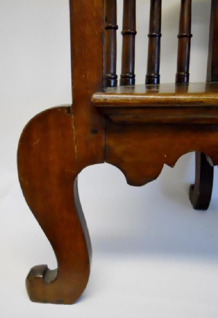 19th C. Chinese Chippendale Arm Chair - 5