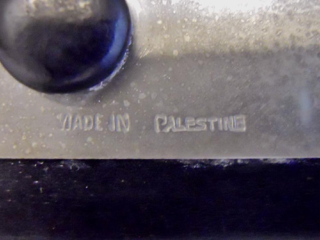 Silver Plaque, Sampson, Bezalel School, Palestine - 3