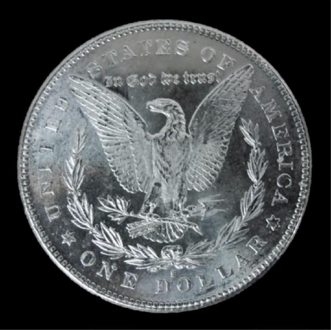 1878- S Morgan Silver Dollars BU, (2pc) - 3