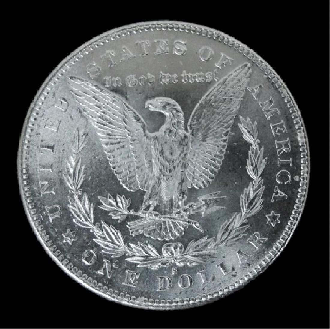 1878- S Morgan Silver Dollars BU, (2pc) - 5