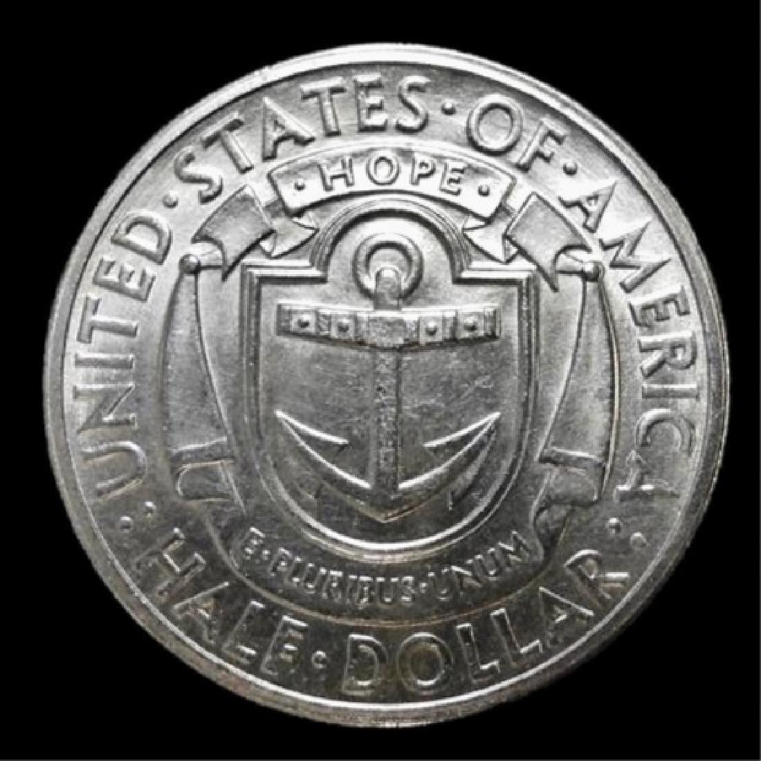 1936-S Rhode Island Commemorative Half Dollar, BU