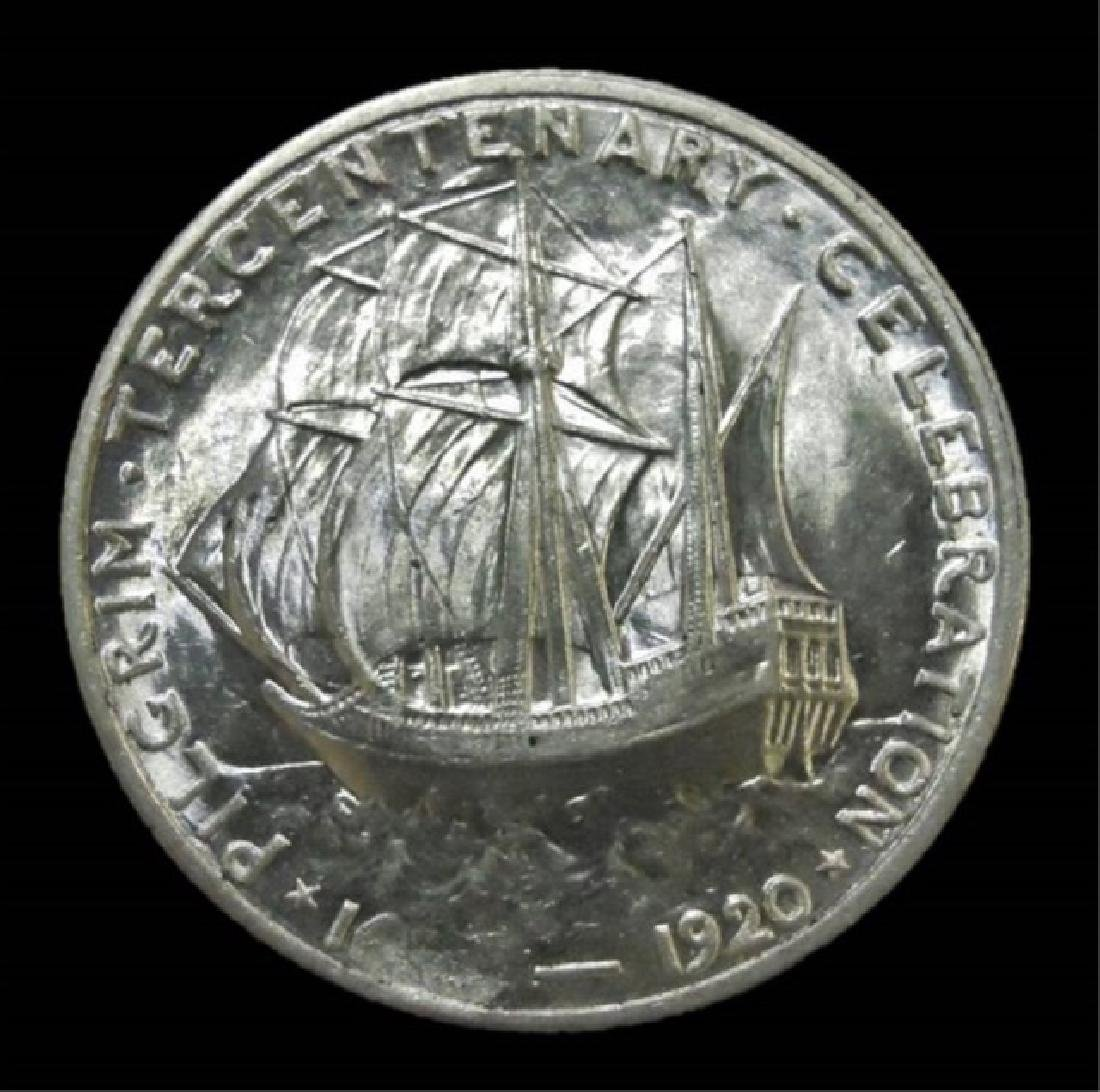 1920 Pilgrim Commemorative Half Dollar, BU - 2