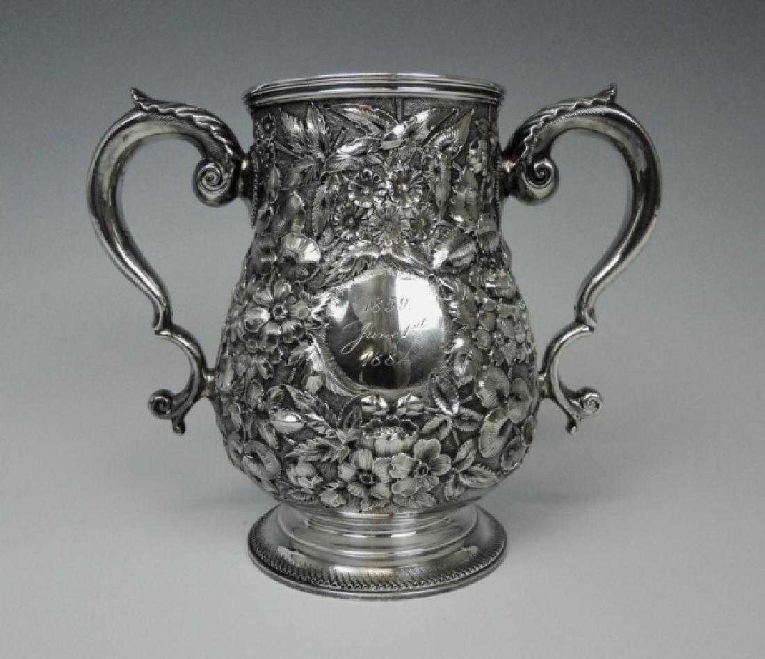 19th C. Sterling Presentation Cup, Bigelow Kennard