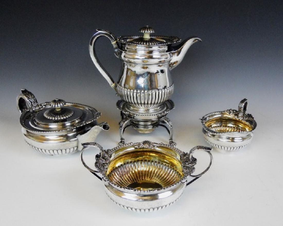George III Silver Tea Service, William Eaton, 1815