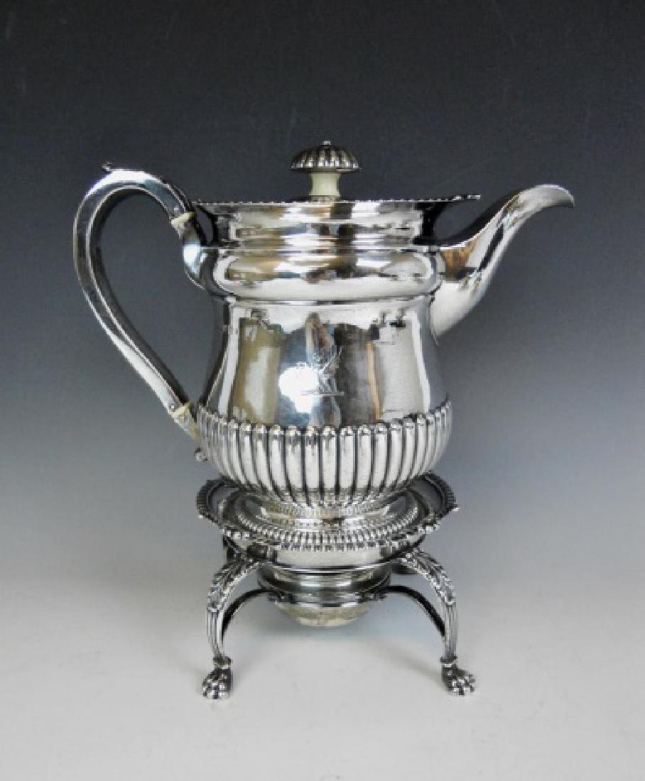 George III Silver Tea Service, William Eaton, 1815 - 2
