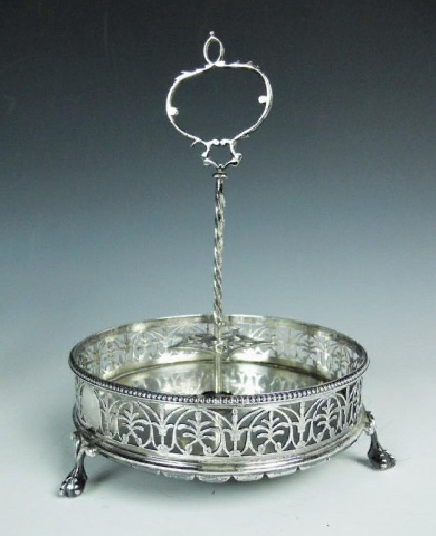 George III Silver Cruet Set, London, 1773 - 5