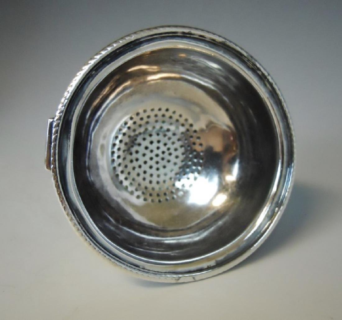 George III Silver Wine Filter, Hester Bateman,1768 - 2