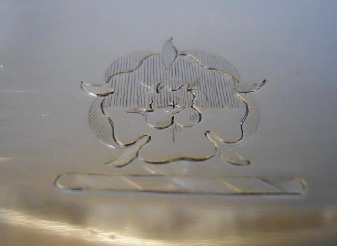 Victorian Silver Egg Cup Set  Charles Boynton 1889 - 5