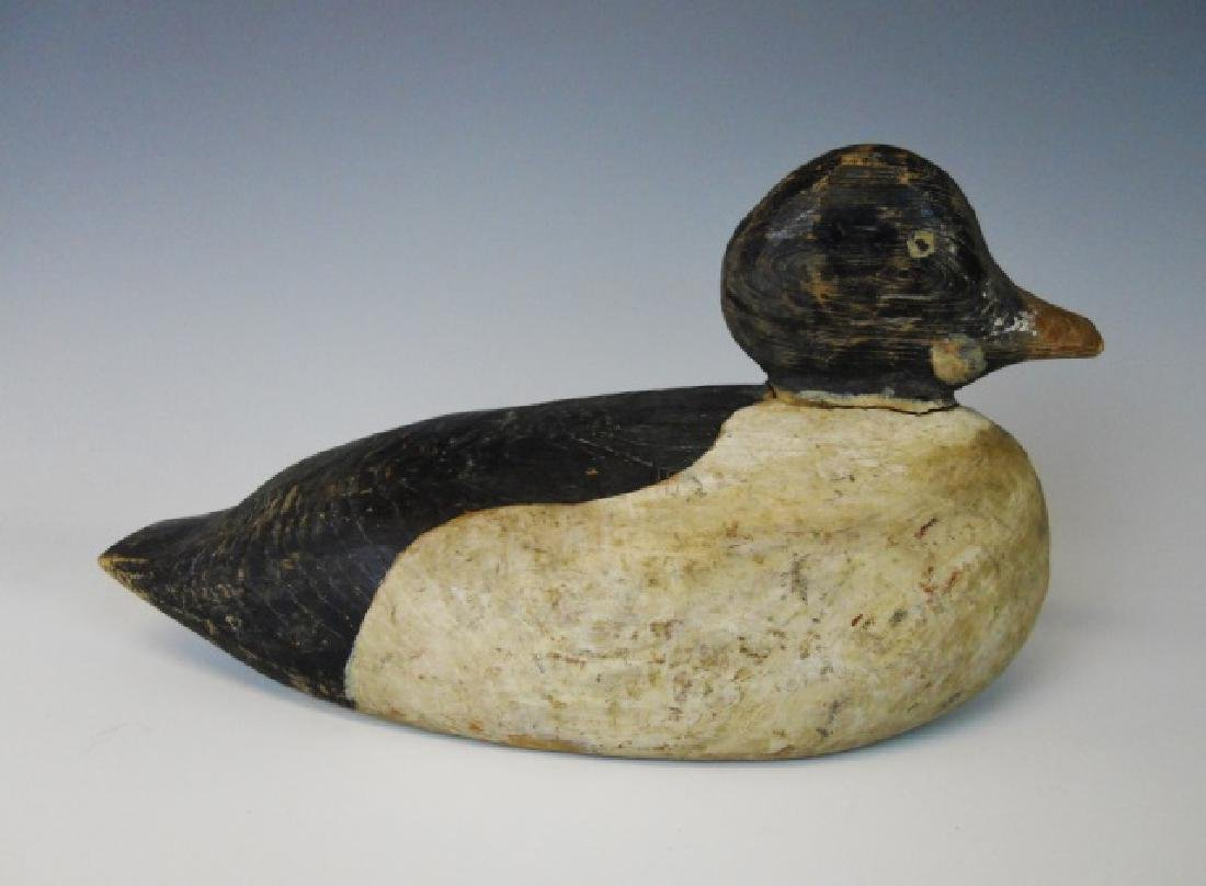 Antique Hand Painted Goldeneye Decoy, Maine