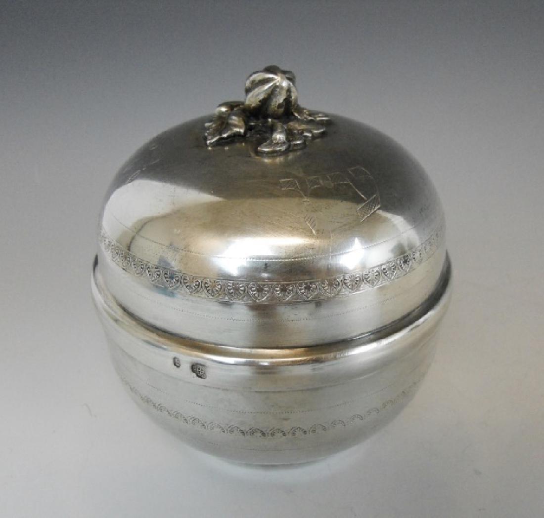 Continental Silver Etrog, Vienna,  1801